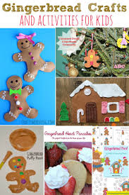 gingerbread crafts and activities for kids gingerbread crafts