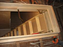garage attic ladder installation u2014 optimizing home decor ideas