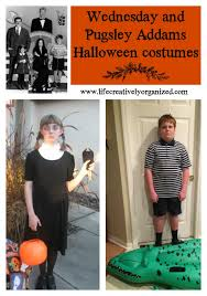 Wednesday Addams Halloween Costumes Awesome Wednesday Pugsley Addams Halloween Costumes