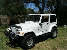 white jeep sahara 2 door find used 1999 jeep wrangler sahara sport utility 2 door 4 0l in