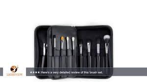 sigma pk001 beauty premium makeup brush kit review test youtube