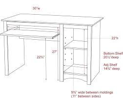 Deep Office Desk Office Desk Standard Height U2013 Adammayfield Co