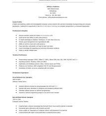 computer programmer resume examples programmer resume example
