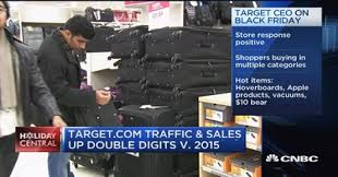 target sale items black friday black friday draws crowds and full carts