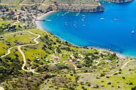 thanksgiving camping california two harbors campground visit catalina island