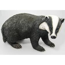 badger real resin ornament by arts ornaments
