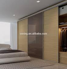 Schlafzimmerschrank Schiebet En Moderne 3 Schiebetüren Mdf Formen Kleiderschrank Türverkleidung