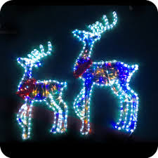 moving lights outdoor reindeer buy outdoor