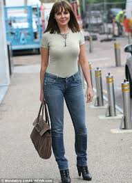 casual for 50 year how should carol vorderman dress at 50 daily mail