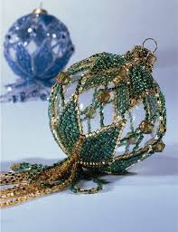 157 best ornament covers images on pinterest beaded christmas