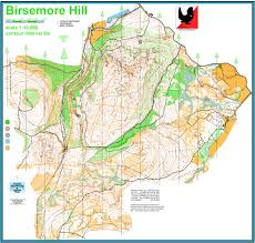 Stirling Scotland Map Birsemore Mar Orienteering Club