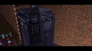 tardis sketch up materialisation effect youtube