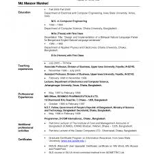 resume format sle images of resignation objective cover letter desktop lecturer resume bestacher marvelous