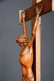wood crucifix crucifix palm wood oak presumably flemish late 18th century