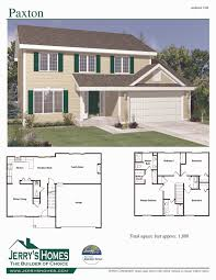 1300 sq ft house plans 2 story