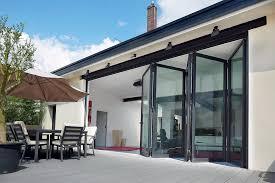 Bi Folding Glass Doors Exterior Attractive Bi Folding Patio Doors Folding Patio Doors Exterior