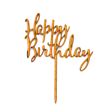 happy birthday cake topper birthday cake topper by mocho loco
