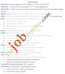 Sample Accounting Resumes by Accounting Resume Sample Sample Accounting Resume Template