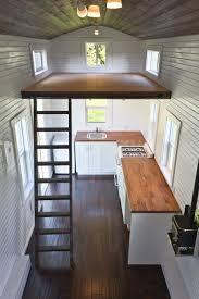 tiny house with loft home design