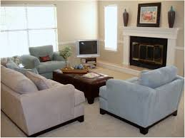 small living room with fireplace and tv ideas corner in design