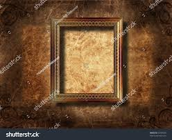 Picture Frame On Wall by 3d Empty Frame On Wall Stock Illustration 55729396 Shutterstock