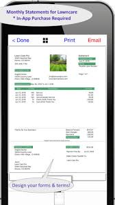lawn care pro invoicing  more on the app store with iphone screenshot  from itunesapplecom