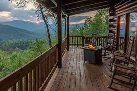 cabin porch vacation rentals smoky mountain cabin rentals in bryson city