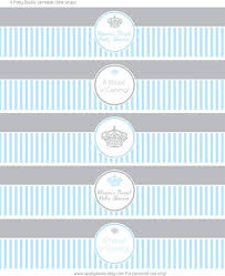 printable water bottle labels for baby shower ba shower boy water