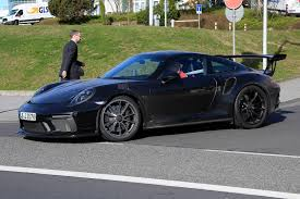 Porsche Gt3 Rs Msrp 2019 Porsche 911 Gt3 Rs U00274 2 U0027 Latest Spy Shots Gtspirit