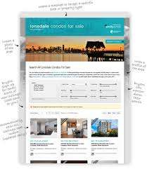 realtyninja real estate landing pages built to generate buyer