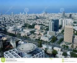 tel aviv from above stock photo image 84700394
