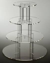 4 tier cake stand hot cheapest clear 4 tier wedding favors wedding cake