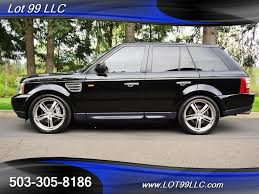 lifted range rover 2008 land rover range rover sport supercharged 96k miles navi