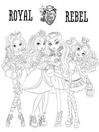 barbie thumbelina coloring pages ever after high coloring pages download and print ever after high