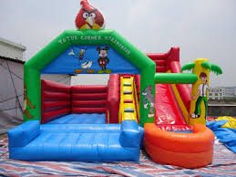small slide mini pool commercial bounce houses bouncer