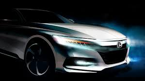 2018 honda accord shows bold new face in teaser before july 14 reveal