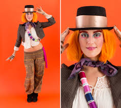 Halloween Mad Hatter Makeup by 16 Ways To Rock A Wig This Halloween Brit Co Mad Hatter Hair