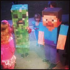 Steve Minecraft Halloween Costume Happy Minecraft Halloween