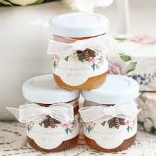 honey jar wedding favors bridal jars wedding favors beau coup
