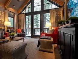 Pick Your Favorite Orange Space HGTV Dream Home  HGTV - Family room size