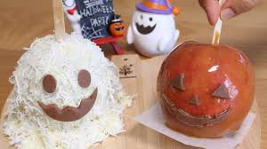 easy halloween caramel apple ハロウィンのキャラメルりんご飴 youtube