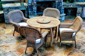 Teak Outdoor Furniture Atlanta by Jakarta Teak 5 Pc Dining Set Teak Outdoor Furniture