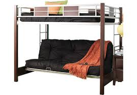 Shop For A Ivy League Cherry  Pc Futon Bunk Bed At Rooms To Go - Futon bunk bed with mattresses