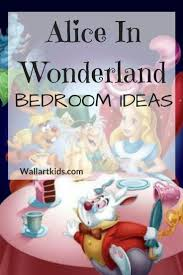 19 best bedroom themes images on pinterest alice in wonderland