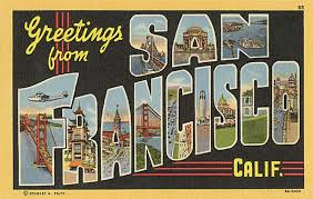 you ll hardly recognize san francisco in these vintage postcards