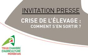 chambre d agriculture morbihan 22 02 2016 invitation presse crise de l élevage comment s en