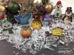 creative sundays with jo shrinky dink ornaments honey bee