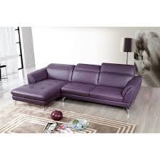 Purple Sectional Sofa Orchard Sectional Sofa Purple Leather Beverly Furniture