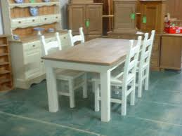shabby chic kitchen table kitchen tables white gray floor tile idea feat traditional storage