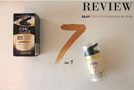 Olay Bb review olay touch of foundation bb najla g禺n